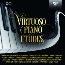 Virtuoso Piano Etudes, 22 CDs