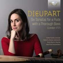 Francis Charles Dieupart (1667-1740): Sonaten Nr.1-6 für Blockflöte & Bc, CD