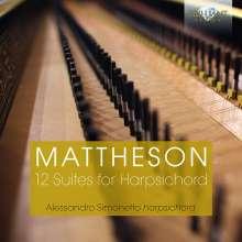 Johann Mattheson (1681-1764): Cembalosuiten Nr.1-12, 2 CDs