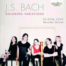 Johann Sebastian Bach (1685-1750): Goldberg-Variationen BWV 988 für Blockflötenquintett, CD