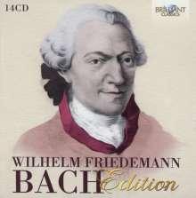 Wilhelm Friedemann Bach (1710-1784): Wilhelm Friedemann Bach Edition, 14 CDs
