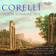 Arcangelo Corelli (1653-1713): Violinsonaten op.5 Nr.1-11, 2 CDs