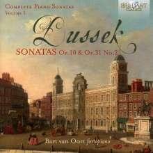Johann Ludwig Dussek (1760-1812): Sämtliche Klaviersonaten Vol.1, CD