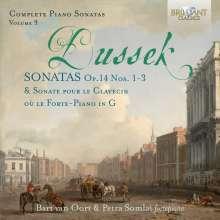 Johann Ludwig Dussek (1760-1812): Sämtliche Klaviersonaten Vol.9, CD