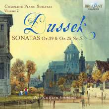 Johann Ludwig Dussek (1760-1812): Sämtliche Klaviersonaten Vol.2, CD