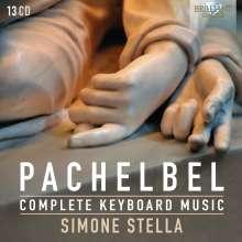 Johann Pachelbel (1653-1706): Sämtliche Orgelwerke, 13 CDs