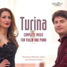 Joaquin Turina (1882-1949): Werke für Violine & Klavier, 2 CDs