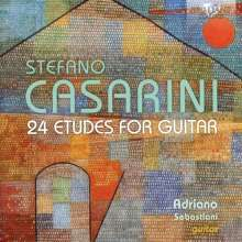 Stefano Casarini (geb. 1954): Etüden für Gitarre Nr.1-24, CD