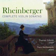 Josef Rheinberger (1839-1901): Sonaten für Violine & Klavier Nr.1 & 2, CD