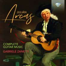 Julian Arcas (1832-1882): Sämtliche Gitarrenwerke, 4 CDs