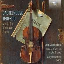 Mario Castelnuovo-Tedesco (1895-1968): Sämtliche Werke für Violine & Klavier, 3 CDs
