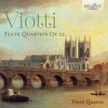 Giovanni Battista Viotti (1755-1824): Flötenquartette op.22 Nr.1-3, CD