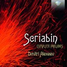 Alexander Scriabin (1872-1915): Preludes (Gesamt-Aufnahme), 2 CDs