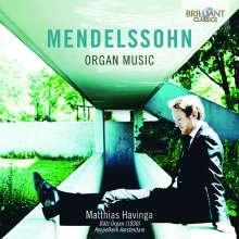 Felix Mendelssohn Bartholdy (1809-1847): Orgelwerke, CD