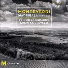 Claudio Monteverdi (1567-1643): Madrigali Libro 5 & 6, 2 CDs
