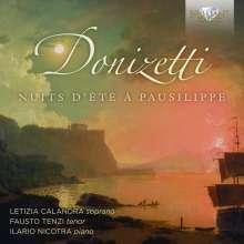 """Gaetano Donizetti (1797-1848): Lieder """"Nuits d'ete a Pausilippe"""", CD"""
