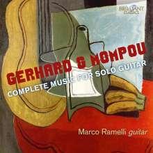 Robert Gerhard (1896-1970): For whom the Bell tolls für Gitarre, CD