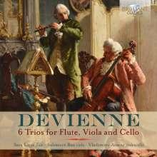 Francois Devienne (1759-1803): Flötentrios Nr.1-6, CD