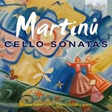 Bohuslav Martinu (1890-1959): Sonaten für Cello & Klavier Nr.1-3, CD