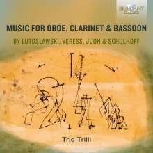 Trio Trilli - Music For Oboe, Clarinet & Bassoon, CD