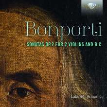 Francesco Bonporti (1672-1749): Sonate de Camera op.2 Nr.1-10 für 2 Violinen & Bc, CD