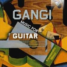 Mario Gangi (1923-2010): Gitarrenwerke, CD