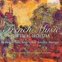 Französische Musik für  Streichorchester, CD