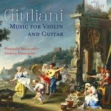 Mauro Giuliani (1781-1829): Werke für Violine & Gitarre, CD