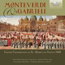 Monteverdi & Gabrieli, 2 CDs