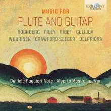 Daniele Ruggieri & Alberto Mesirca - Musik für Flöte & Gitarre, CD