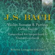Johann Sebastian Bach (1685-1750): Sonaten,Partiten & Suiten in Cembalo-Transkriptionen, 3 CDs