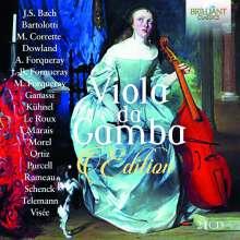 Viola da gamba Edition, 21 CDs