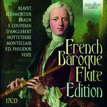 French Baroque Flute Edition, 17 CDs