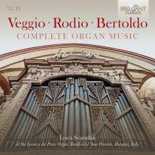 Sperindio Bertoldo (1530-1570): Sämtliche Orgelwerke, 2 CDs