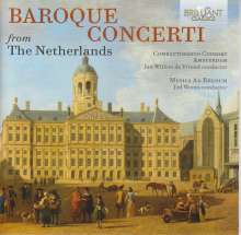 Baroque Concerti from the Netherlands, 4 CDs