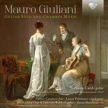 Mauro Giuliani (1781-1829): Gitarrenwerke & Kammermusik mit Gitarre, CD
