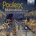 """Francis Poulenc (1899-1963): Lieder """"Melodies"""", CD"""