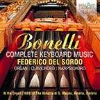 Aurelio Bonelli: Sämtliche Musik für Tasteninstrumente, CD