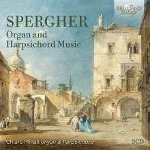 Ignazio Spergher (1734-1808): Cembalo- und Orgelwerke, 3 CDs
