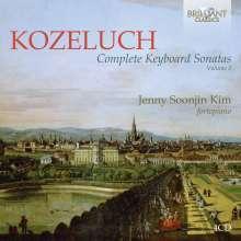 Leopold Kozeluch (1747-1818): Sämtliche Sonaten für Tasteninstrumente Vol.3, 4 CDs