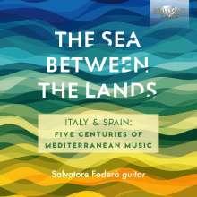 Salvatore Fodera - The Sea Between The Lands, CD