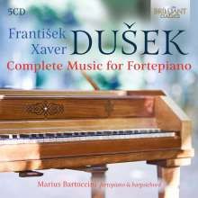 Frantisek Xaver Dussek (1731-1799): Sämtliche Klavierwerke, 5 CDs