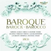 Baroque - Barock - Barocco, 25 CDs