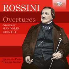 Gioacchino Rossini (1792-1868): Ouvertüren (arr. für Mandolinenquintett), CD
