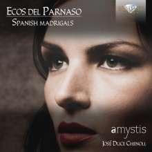 """Spanish Madrigals """"Ecos Del Parnaso"""", CD"""