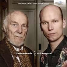 Theo Loevendie (geb. 1930): Nachklang für Blockflöte, 3 Violinen, 3 Violen, 3 Celli, Kontrabass & Cembalo, CD