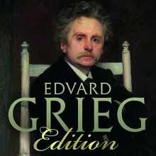 Edvard Grieg (1843-1907): Edvard Grieg Edition (Brilliant 2019), 25 CDs