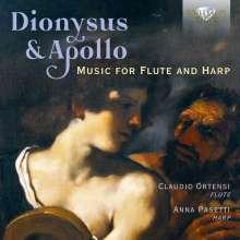 """Musik für Flöte & Harfe - """"Dionysius & Apollo"""", CD"""