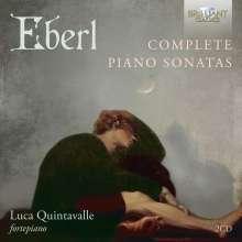 Anton Eberl (1765-1807): Klaviersonaten, 2 CDs