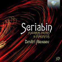 Alexander Scriabin (1872-1915): Mazurken opp.3,25,40, 3 CDs
